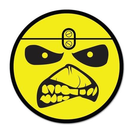 taglia selezionata Adesivo per auto Iron Maiden Vynil