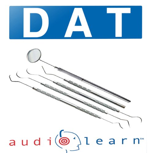 Dental Admission Test (DAT) AudioLearn audiobook cover art