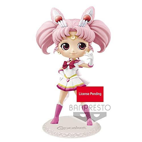 Q Posket Sailor Moon Super Sailor Chibby Moon Pretty Guardian (versión A)