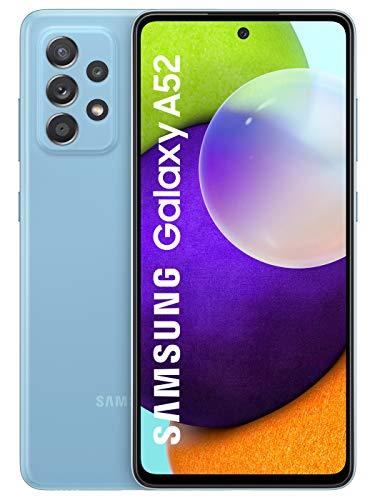 Samsung Galaxy A52 (Blue, 6GB RAM, 128GB Storage) with No Cost EMI/Additional Exchange Offers