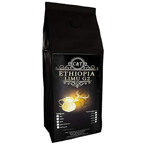 Kaffee Globetrotter - Echte Raritäten (Ganze Bohne, 500g) Ethiopia Limu Grade 2 - Raritäten Spitzenkaffee - Werden Sie Zum Entdecker!