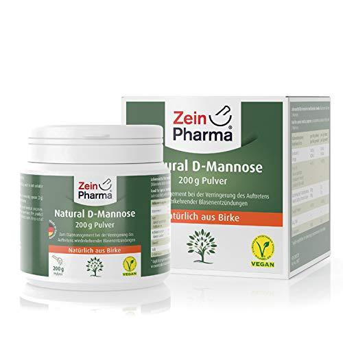 D-Mannosio in polvere di ZeinPharma • 100 g (fornitura per 2 mesi) • trattamento dietetico per cistite • Fatto in Germania