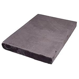 BIRDROCK HOME Memory 3″ Memory Dog Bed – Ultra Soft Plush Pet Bed – Pet Mat (40 x 26, Grey)