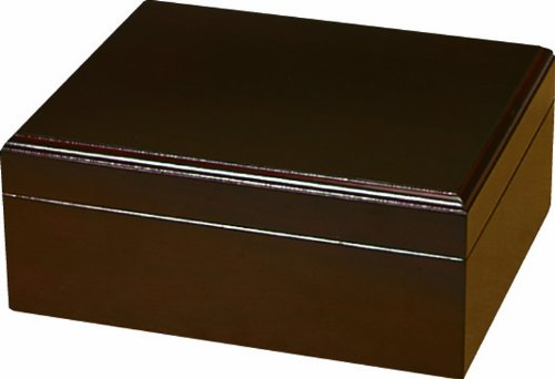 Quality Importers Capri Humidor, Holds 25-50 Cigars, SureSeal Technology,...