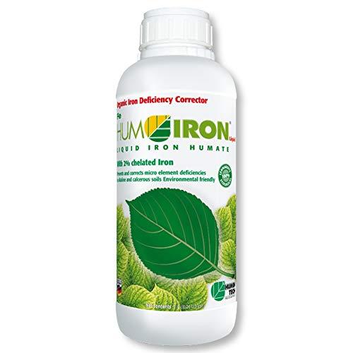 HuminTech® HUMIRON® Fe Liquid 1 l flüssiger organischer Eisendünger Eisenliquid
