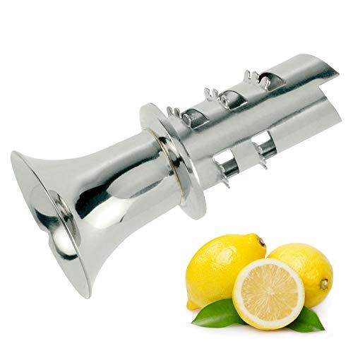 Westmark Zitronenausgießer/Mini-Entsafter/Apfelentkerner, Rostfreier Edelstahl, Länge: 6,8 cm, Silber, 62982280