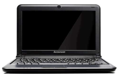 Lenovo IdeaPad S10-2 25,7 cm (10.1 Zoll) Netbook (Intel Atom N270 1.6GHz, 1GB RAM, 160GB HDD, Intel Media 950, XP Home) schwarz
