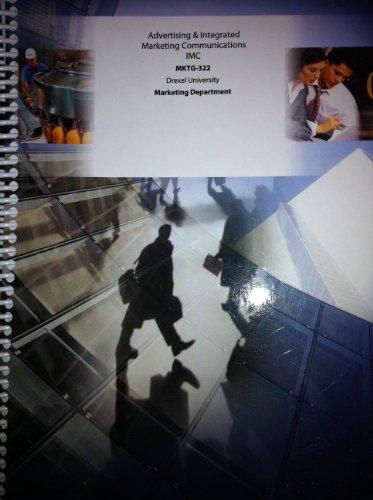 Advertising & Integrated Marketing Communications (MKTG-322, Drexel University)