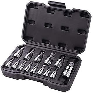 TACKLIFE 14-Piece Torx Bit Socket Set, T8- T60, S2 Steel, CR-V - TBS1A