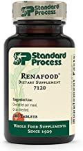 Standard Process Renafood - Whole Food Kidney Health Supplement for Kidney Support with Kidney Bean, Renal Vitamins, Spanish Moss, Lactose, Organic Sweet Potato, Beet Root, and More - 180 Tablets