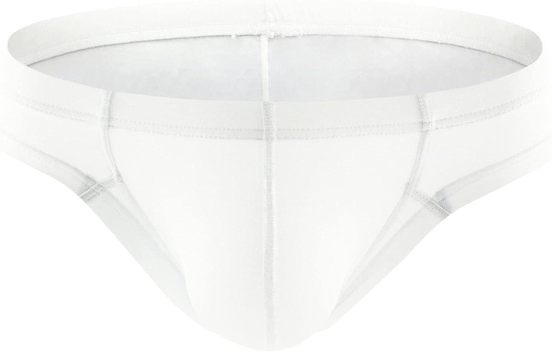 JSPOYOU Men's Briefs Shorts Underwear Elastic Sexy Big Bulge Pouch Panties Building Jockstraps Stretchy Underpants