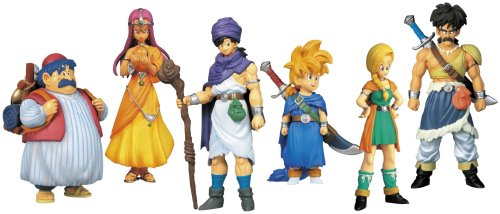 Dragon Quest Character Figure Collection Tenkuhen 2 (set of 9)