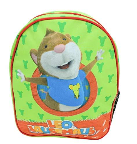 """Kindergarten-Rucksack """"Leo Lausemaus"""" / Größe: 22x28cm"""