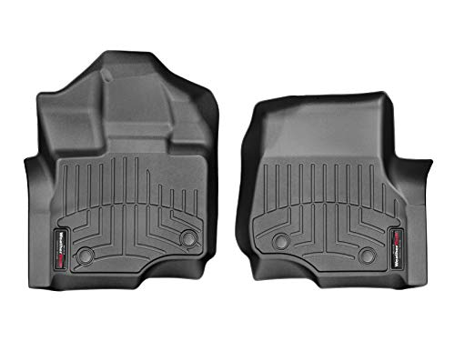 WeatherTech FloorLiner Fits F150 2015-2020, Floor Mats for Ford F150 Accessories, Front Row Driver Passenger