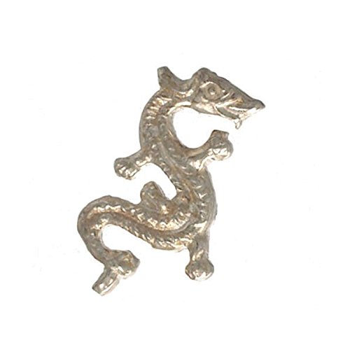 Conan Sterling Silver Dragon Stud Oreille Hommes