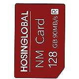 Teléfono tarjeta de expansión 128G NM tarjeta Micro SD tarjeta de memoria de la memoria del teléfono móvil compatible con Huawei Móvil Red, accesorios de telefonía móvil la tarjeta de memoria