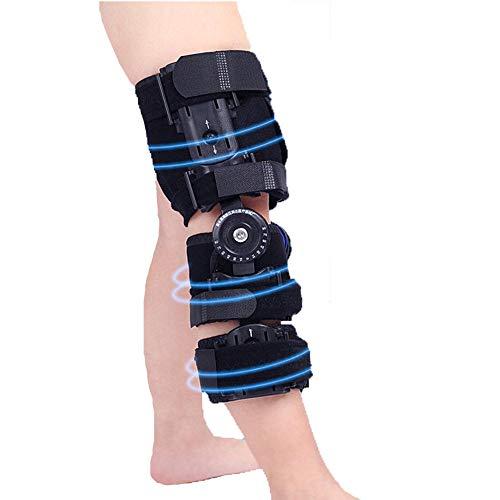 AOPAWOX Bisagras Rodillera ortopedica para niños - Ortesis de Rodilla Ajustable - Soporta desgarros de menisco, Dolor de articulaciones,Lesiones de ligamentos y esguinces