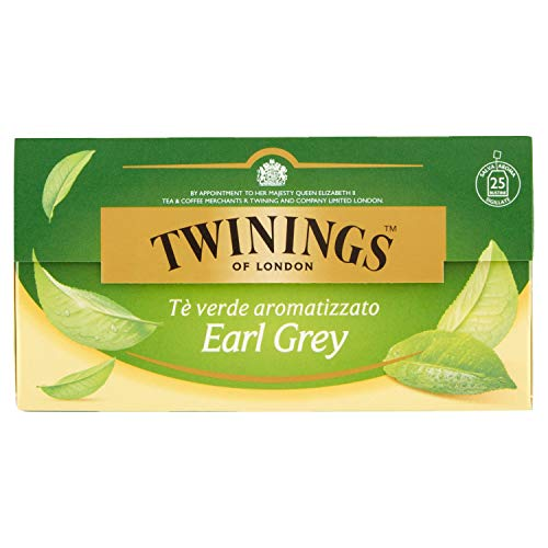 Twinings T? Verde Green Earl Grey - 25 Filtri