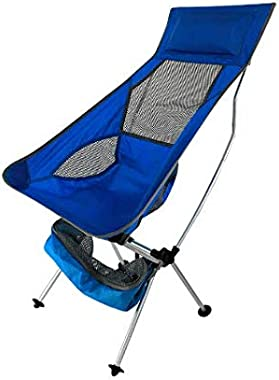 LAOJI Outdoor Camping Ultra Light Folding Chair Travel Chair Fishing Barbecue Hiking Strong high Load Beach Fishing Chair