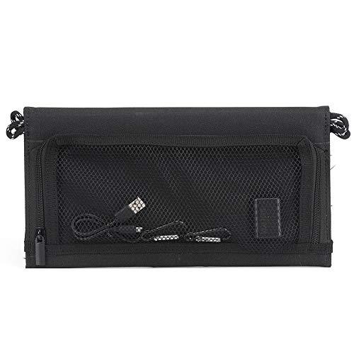 Blantye Cargador de teléfono móvil Plegable portátil de 15W 5V Portátil con Salida USB para Camping al Aire Libre