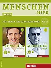 Menschen hier A1/2. Paket: Kursbuch mit DVD-ROM und Arbeitsbuch mit Audio-CD: Deutsch als Zweitsprache / Paket: Kursbuch