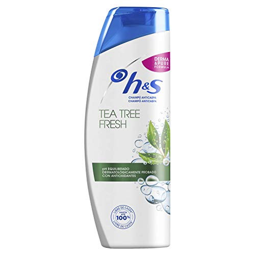 H&S Tea Tree Fresh Refrescante Anticaspa Champu 360 ml