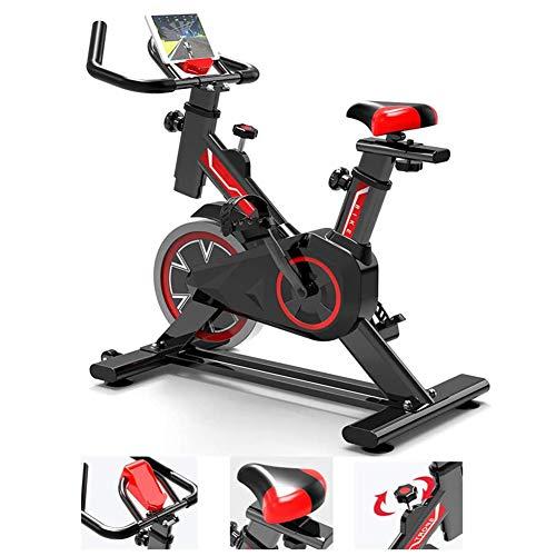 Starsmyy Ergometer, hometrainer, fitnessfiets en buikspiertrainer, verstelbare zitting en stuur, fitness fiets sport-fitnessapparatuur cardio-training