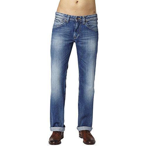 Pepe Jeans Kingston Zip, Jeans Homme, Bleu (11Oz Sanfore Twist), 29W / 34L