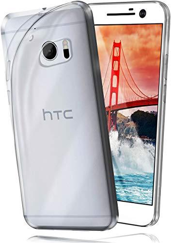 MoEx AERO Hülle Transparente Handyhülle kompatibel mit HTC 10   Hülle Silikon Dünn - Handy Schutzhülle, Durchsichtig Klar