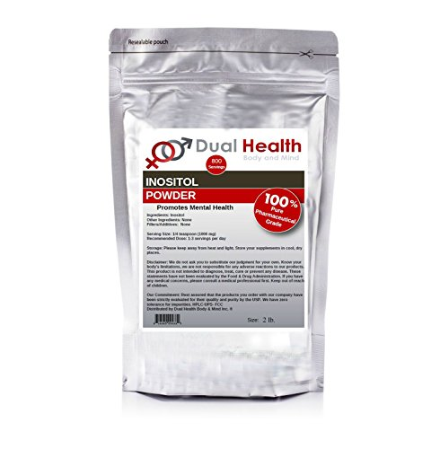 Pure Inositol Powder (2 lb) Bulk Supplements