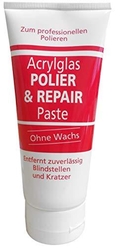 BURNUS Polier & Repair Paste 200ml ohne Wachs für Acrylglas