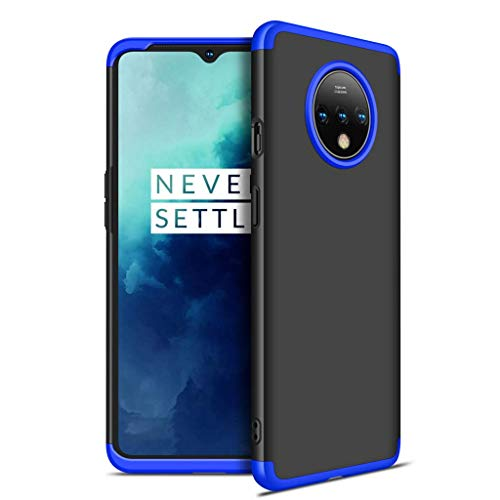 COTDINFORCA OnePlus 7T Hülle, Slim Fit & Ultra Thin Hard PC Case Full Protective Cover Hard PC Case Premium 360 Grad Cover for OnePlus 7T, B-3 in 1 - A5