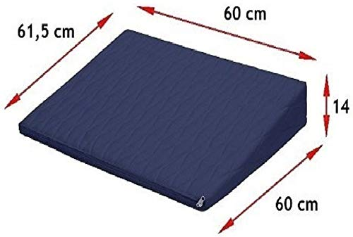 Travesseiro Terapêutico Almofada Anti-refluxo C/Capa Microfibra