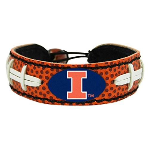 GameWear Illinois Fighting Illini Classic Football Armband, One Size, Braun