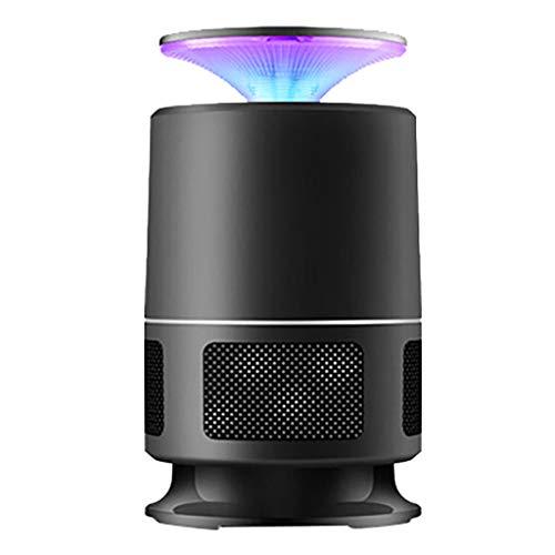 2019 Neuestes Insektenvernichter,USB Insektenlampe, UV LED Insektenfalle Mückenlampe Fluginsektenvernichter Moskitolampe durch Reine Physikalische Mückenbekämpfung (Schwarz)
