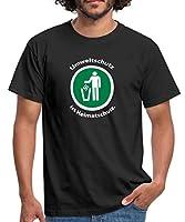 Storch Heinar Heimatschutz Männer T-Shirt, L, Schwarz