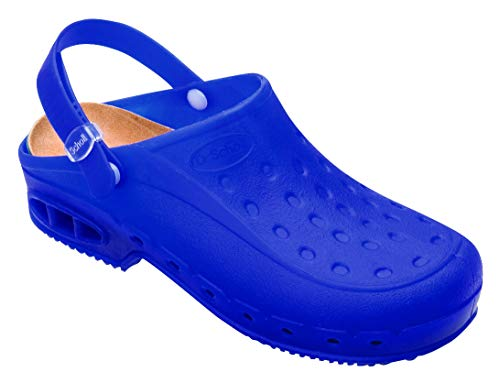 dr scholl Zoccolo Sholl Worktime (34/35, Blu Fluo)