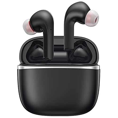 Écouteur Bluetooth Gaming Intra-auriculaire, Kingstar Bluetooth 5 Earbuds Noise Cancellation MIC Low Latency Ipx5 Auto...