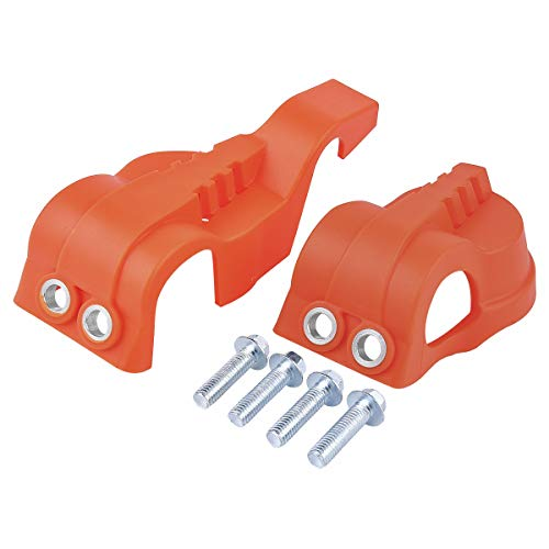 WP - Horquilla protectora para zapatos, kit de repuesto para Husqvarna FE FC TE TC 125 250 300 350 KTM EXC Motocross Dirt Pit Bike, color naranja