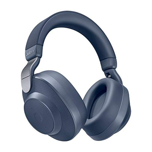 Jabra Elite 85h Casque Bluetooth 5.0 avec Réduction de Bruit Active et le Service Vocal Amazon Alexa Intégrée - Bleu Navy