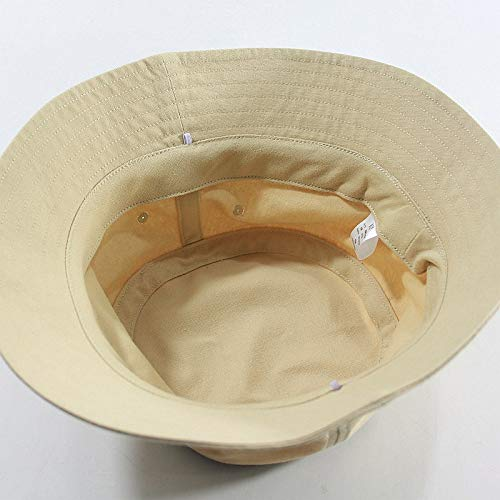 AOXQ Sombrero De Hombre Talla Grande Sombrero De Sol De Algodón De Verano para Hombre Y Sombrero De Cubo De Talla Grande para Hombre 55-59 Cm 60-64 Cm