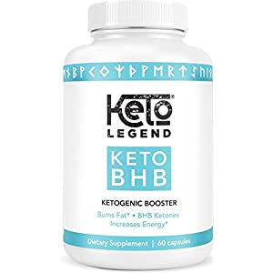 Best Keto BHB Diet Pills – Ketogenic Keto Weight Loss Pills for Women and Men – Keto Diet Supplement Exogenous Ketones -BHB Salts – Ketosis Keto Supplement – Keto Pills Weightloss 60 Capsules