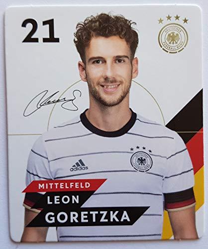 Rewe EM 2020 DFB - Sammelkarten - Normale - Nr. 21 - Leon Goretzka - Plus 1 spezielle toysagent Sonderkarte