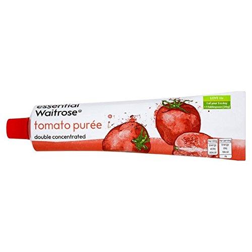 Puré de tomate italiano doble concentrado esencial de Waitrose 200g