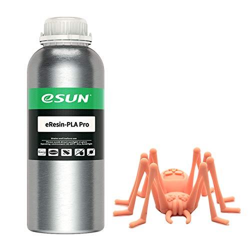 eSUN, stampante 3D ad alta precisione a base vegetale in resina rapida LCD UV polimerizzazione resina 405nm biodegradabile PLA resina per schermo monocromatica fotopolimero resina liquida, 1000g beige