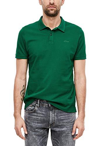 s.Oliver Herren Poloshirt aus Baumwollpiqué Green 3XL