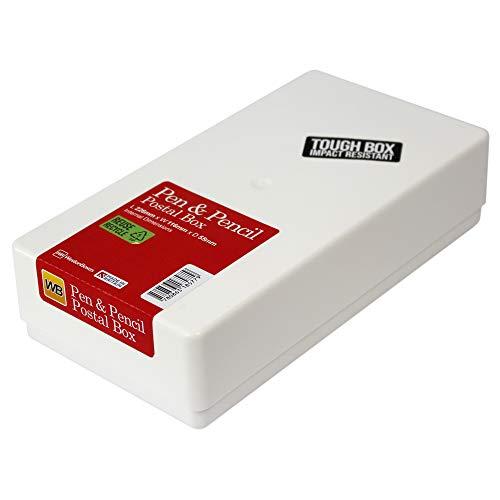WestonBoxes - slagvaste herbruikbare plastic brievenbussen, ideaal voor herhaalde correspondentie en om kleine geschenken te beschermen (Klein Pakket DL, 10 Stuks)