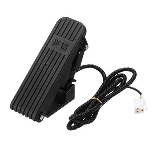 HELEISH Pedales de pedal Acelerador de control de velocidad del acelerador para...