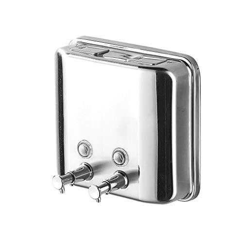 Distributeur de Savon Distributeur de Savon en Acier Inoxydable 500 ML Shampooing pour Les ménages (Taille : 1500ml)