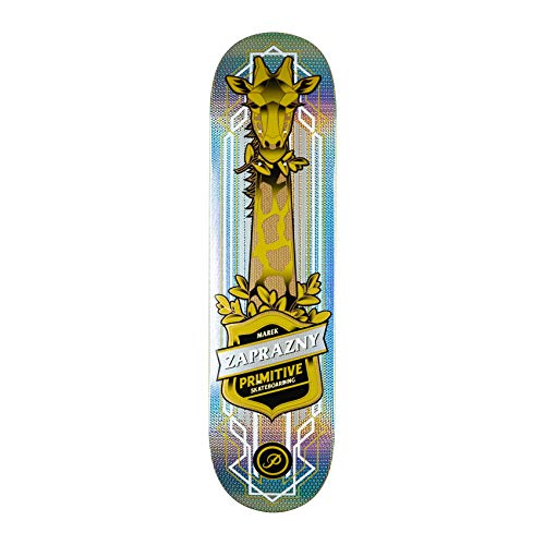 Primitive Skateboard Deck Marek Zaprazny Giraffe Pro Model (Multi) inklusive Griptape 8.25